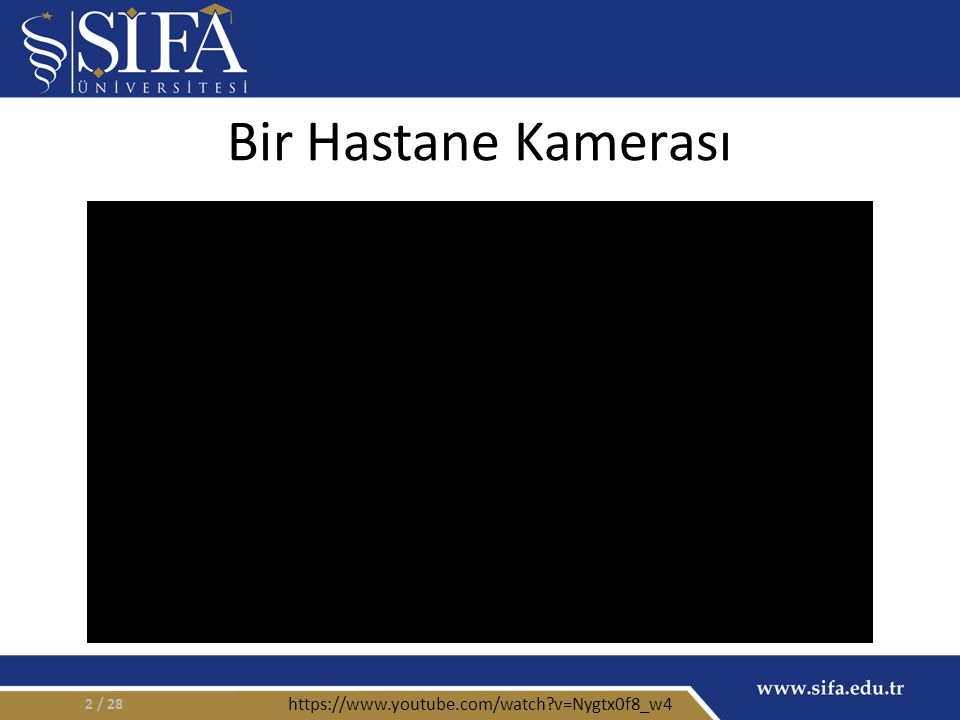 Bir Hastane Kamerası / 282 https://www.youtube.com/watch v=Nygtx0f8_w4