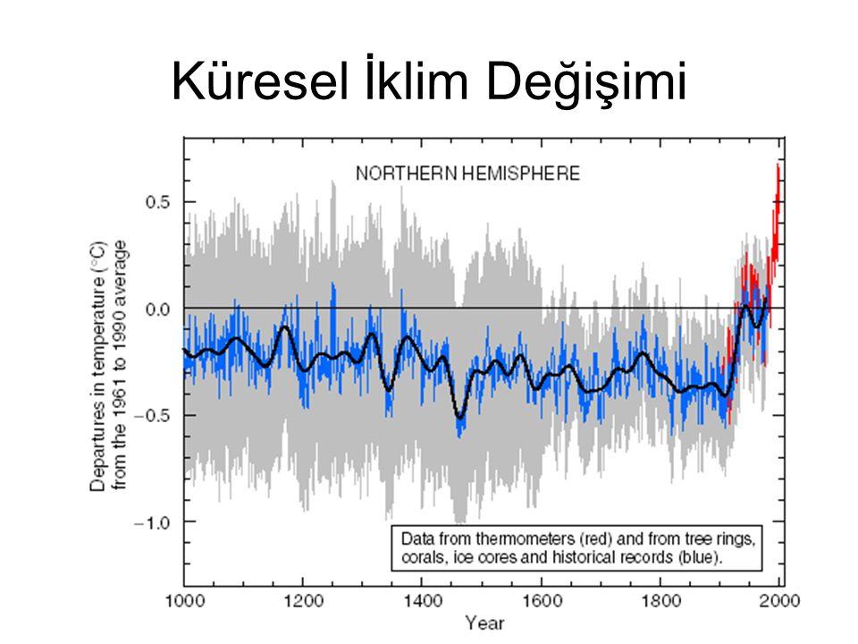 Havacılık Kaynaklı Uçak emisyonlarından (aerosol ve gaz) meydana gelen iklim üzerindeki radyatif değişimin +0.05 W m-2 olduğu tahmin edilmektedir ki bu miktar toplam antropojenik radyatif değişimin %3.5'uğunu oluşturmaktadır.