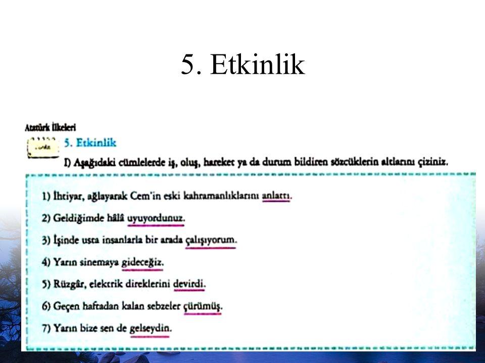 www.dilimce.com26 5. Etkinlik