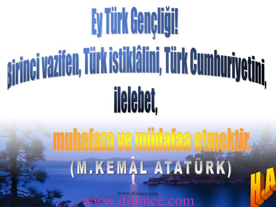www.dilimce.com29 www.dilimce.com
