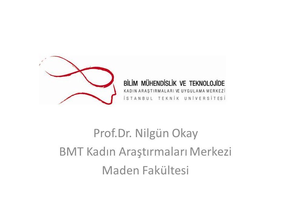 Prof.Dr. Nilgün Okay BMT Kadın Araştırmaları Merkezi Maden Fakültesi