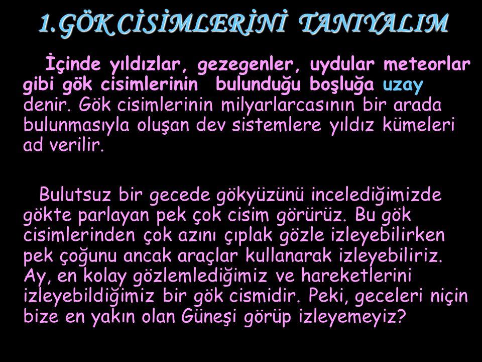 2.GÜNEŞ SİSTEMİ 2.