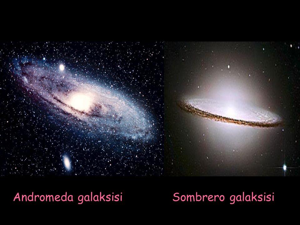 Andromeda galaksisi Sombrero galaksisi