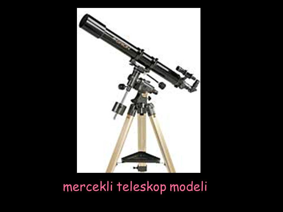 mercekli teleskop modeli