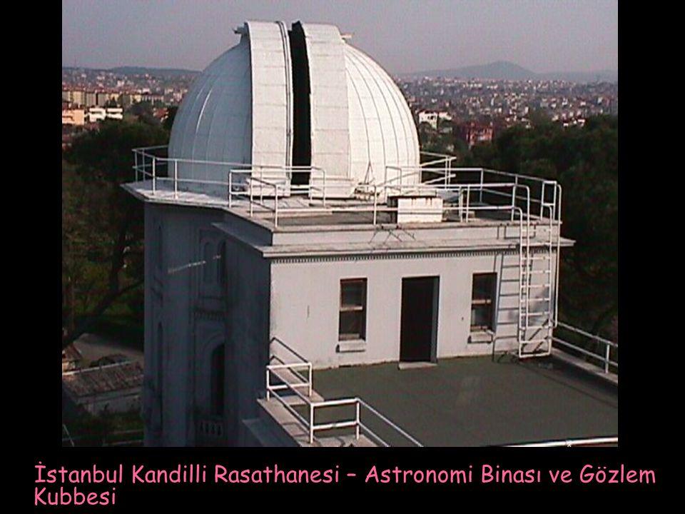 İstanbul Kandilli Rasathanesi – Astronomi Binası ve Gözlem Kubbesi