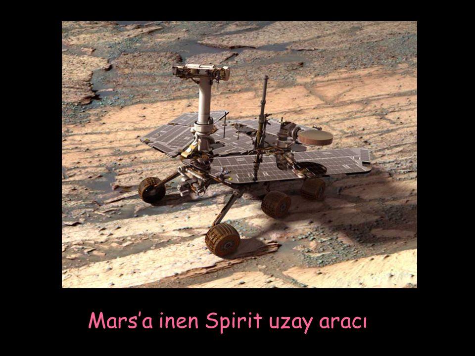 Mars'a inen Spirit uzay aracı