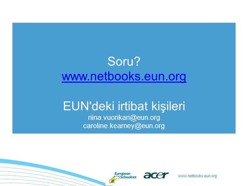 www.netbooks.eun.org Soru.