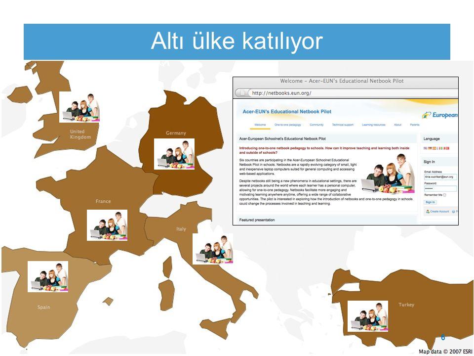 www.netbooks.eun.org Altı ülke katılıyor 6