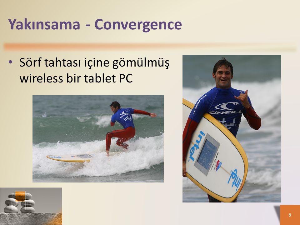 Yakınsama - Convergence Sörf tahtası içine gömülmüş wireless bir tablet PC 9