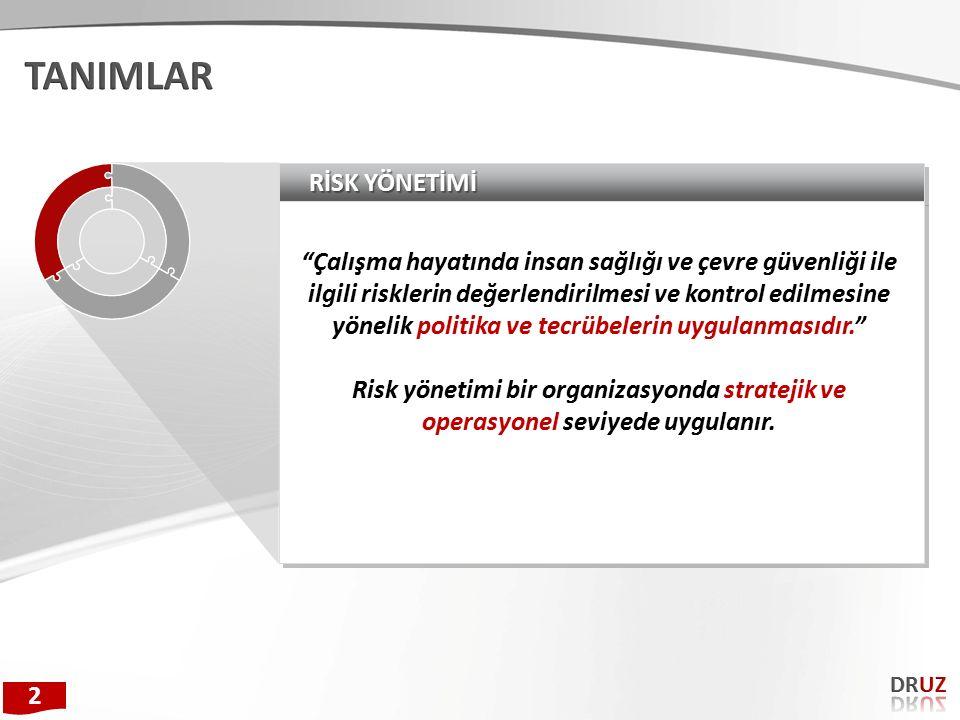 SN RİSK DEĞERLENDİRMESİNİN GENEL FAYDALARI / NEDEN RD.