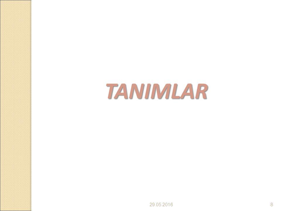 8 TANIMLAR