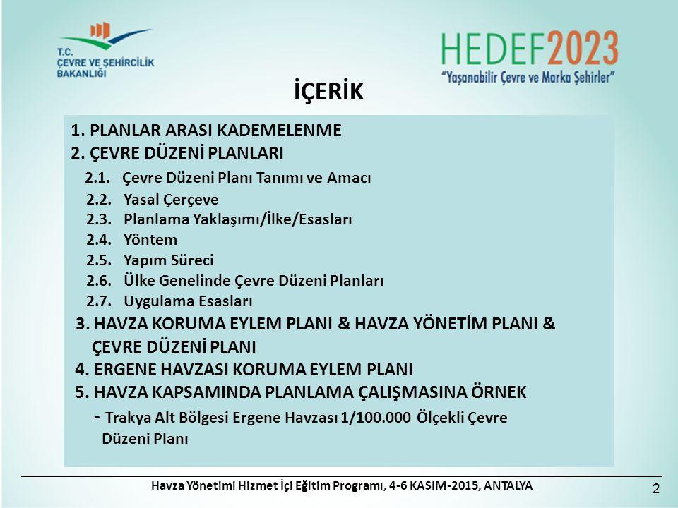 İmar, Kıyı, Yapı ve Çevre Uygulamaları Güneydoğu Anadolu Bölgesel Semineri, 21 - 23 Eylül 2012, Mardin 33