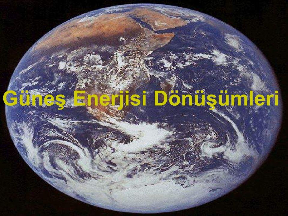 www.slaytyerim.com Güneş Enerjisi Dönüşümleri