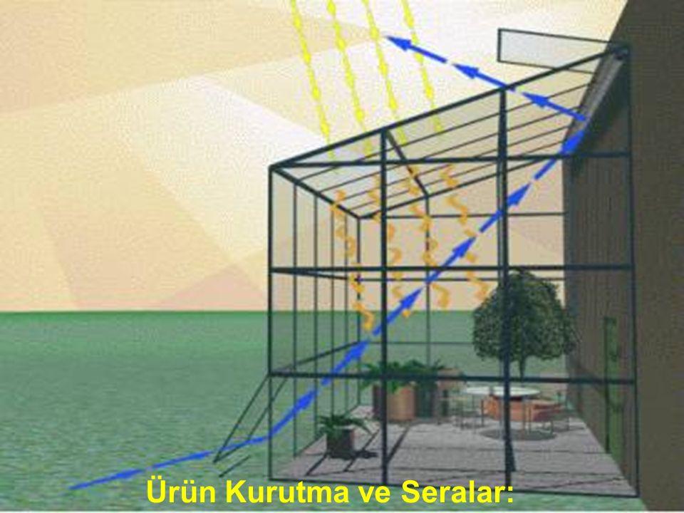 www.slaytyerim.com Güneş Mimarisi: Bina yapı ve tasarımında yapılan değişikliklerle ısıtma, aydınlatma ve soğutma gerçekleştirilir. Pasif olarak doğal