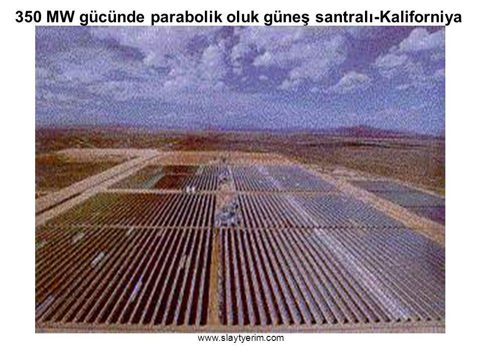www.slaytyerim.com 350 MW gücünde parabolik oluk güneş santralı-Kaliforniya