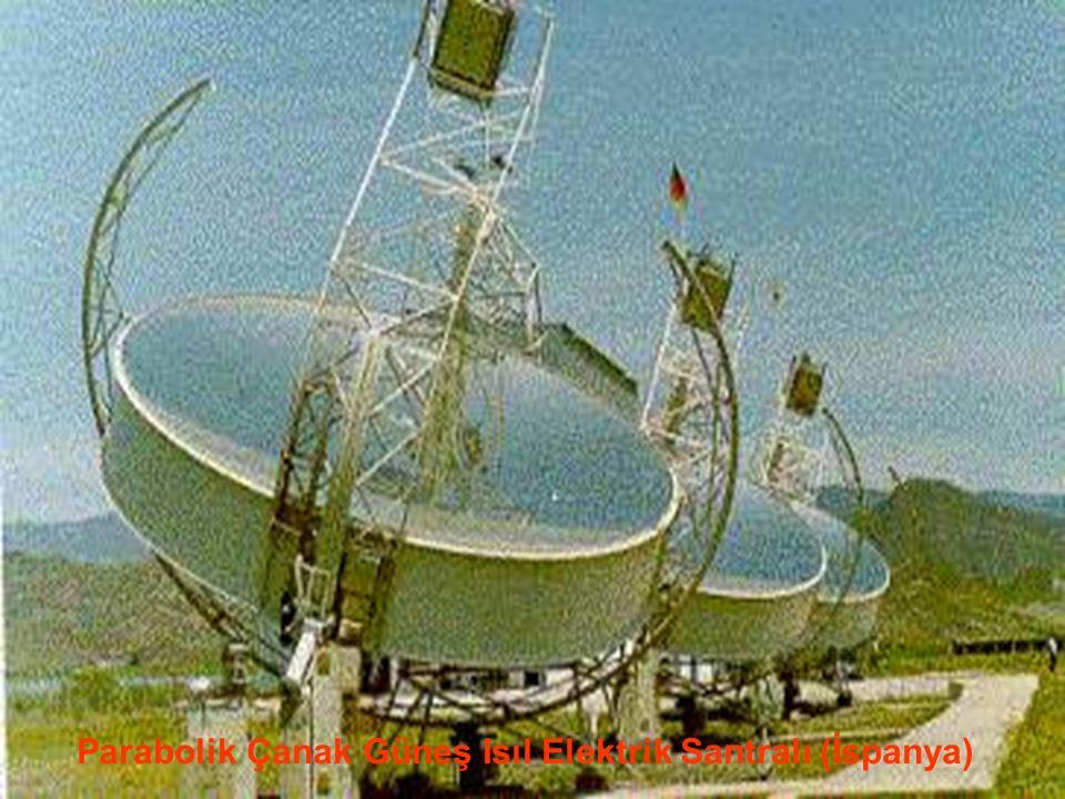 www.slaytyerim.com Parabolik Çanak Sistemler: İki eksende güneşi takip ederek, sürekli olarak güneşi odaklama bölgesine yoğunlaştırırlar. Termal enerj