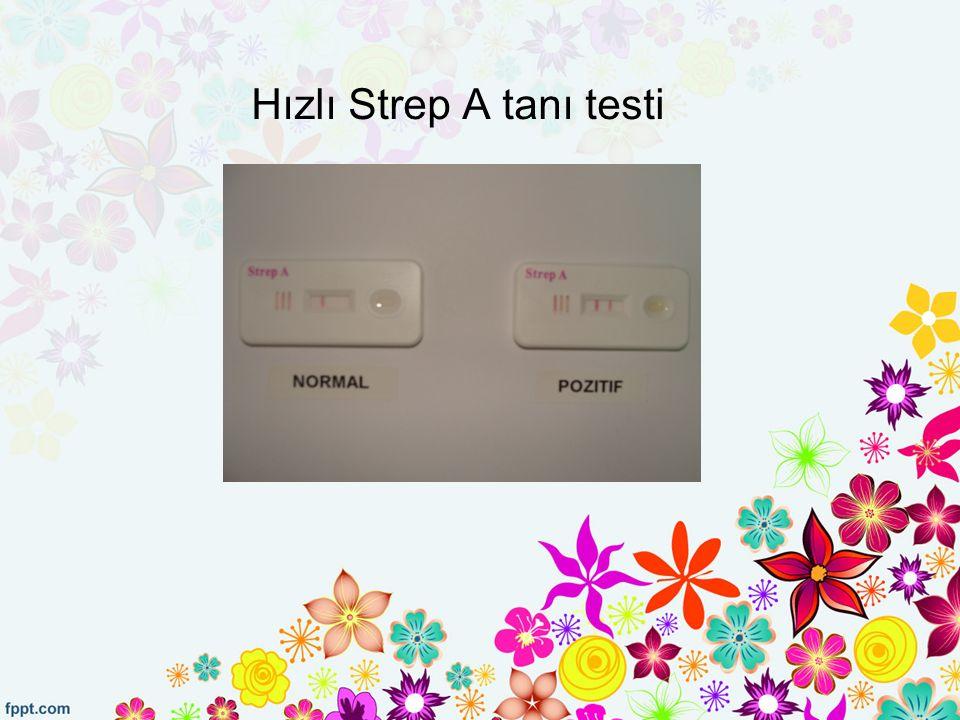 Hızlı Strep A tanı testi