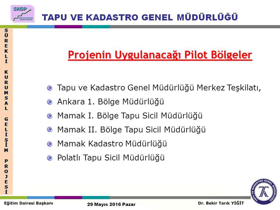 Tapu ve Kadastro Genel Müdürlüğü Merkez Teşkilatı, Ankara 1.
