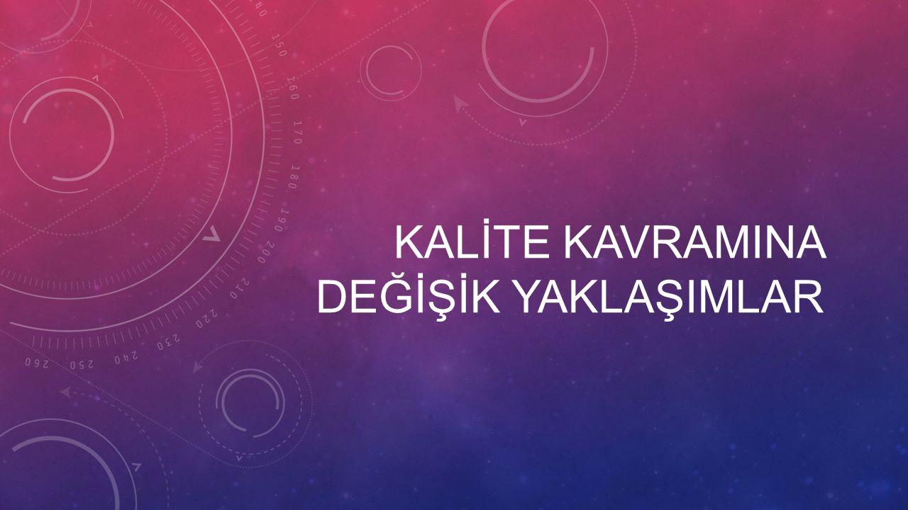 Toplam Kalite Yönetimi uygulamaları konusunda ileri sürülebilecek çeşitli yaklaşımlardan bahsedilebilir.