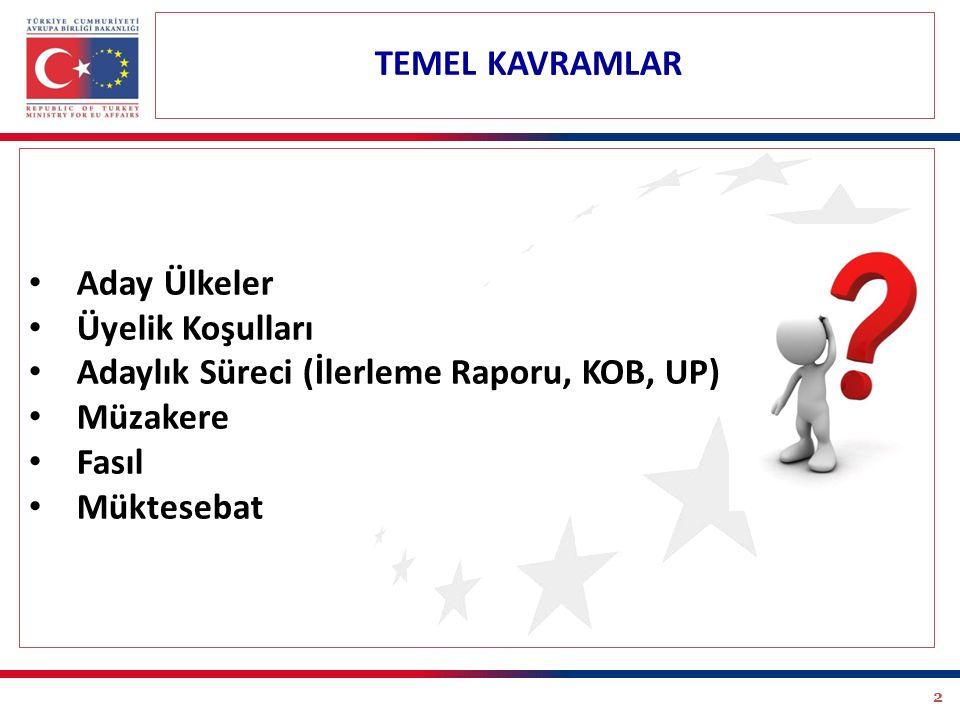 23 Türkiye'nin demokratikleşmesini destekleyici ve bu yöndeki reformları hızlandırıcı bir rol oynamaktadır.