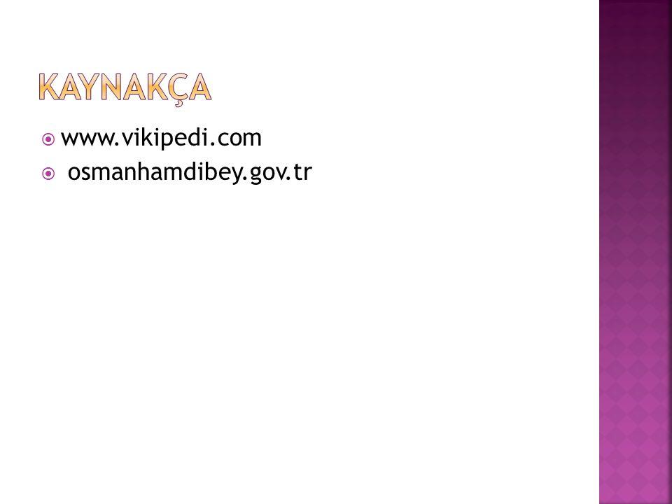  www.vikipedi.com  osmanhamdibey.gov.tr