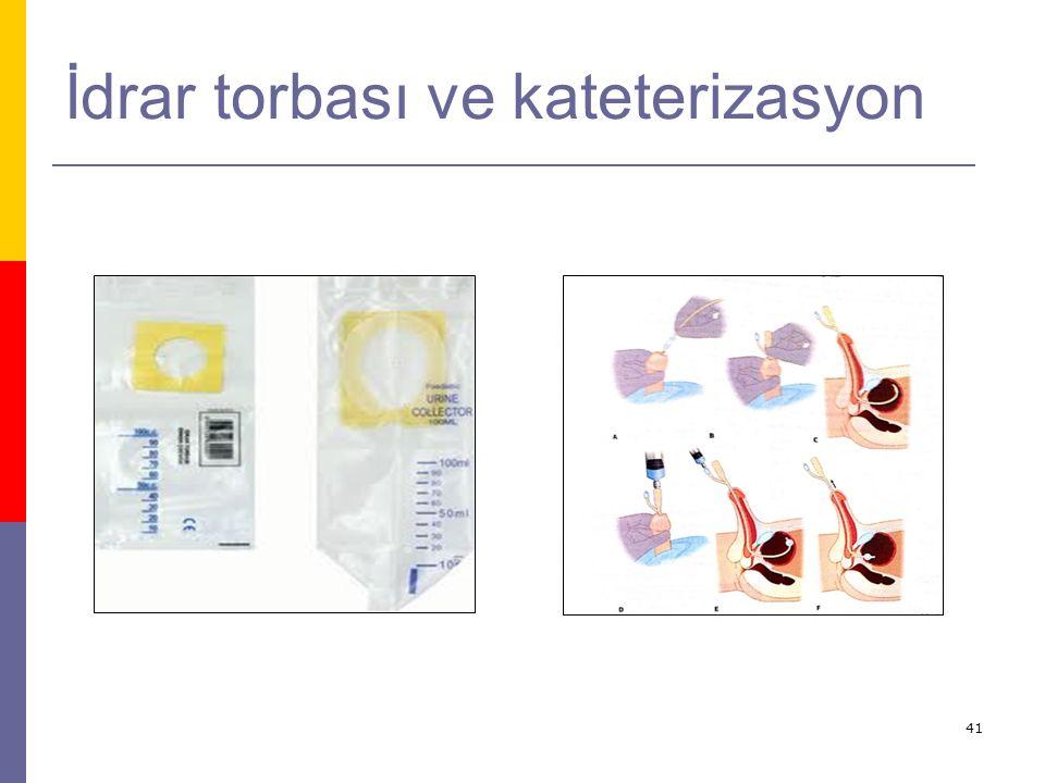 41 İdrar torbası ve kateterizasyon