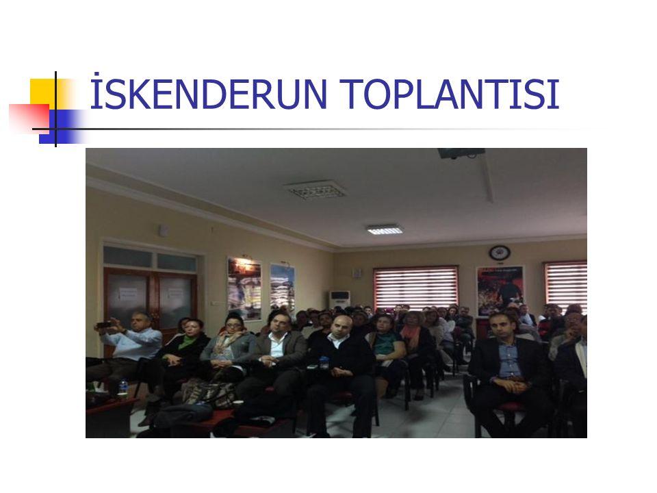 İSKENDERUN TOPLANTISI