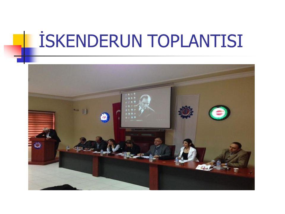 TEB' nde 23.10.2013 tarihlerinde gerçekleştirilen açma kapama saatleri konulu toplantıya Ecz.