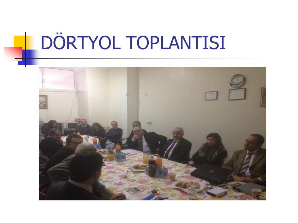DÖRTYOL TOPLANTISI