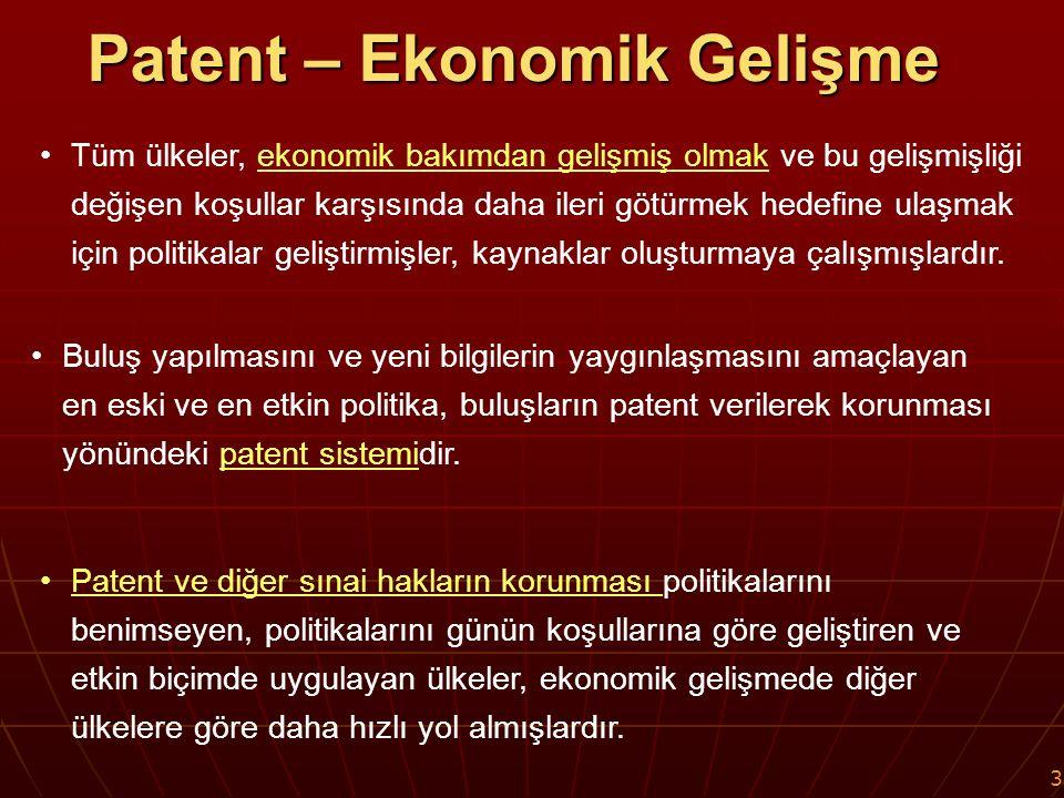 14 Ekonomik ve Teknolojik Gelişmişlik Korumanın Etkinliği SERBEST KARAR DÖNEMİ (1995 ÖNCESİ)