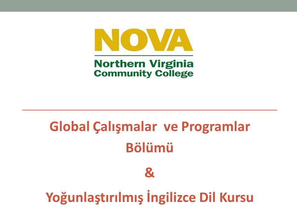 Global Çalışmalar ve Programlar Bölümü & Yoğunlaştırılmış İngilizce Dil Kursu