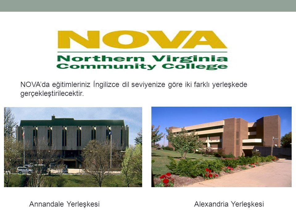 NOVA'da eğitimleriniz İngilizce dil seviyenize göre iki farklı yerleşkede gerçekleştirilecektir.