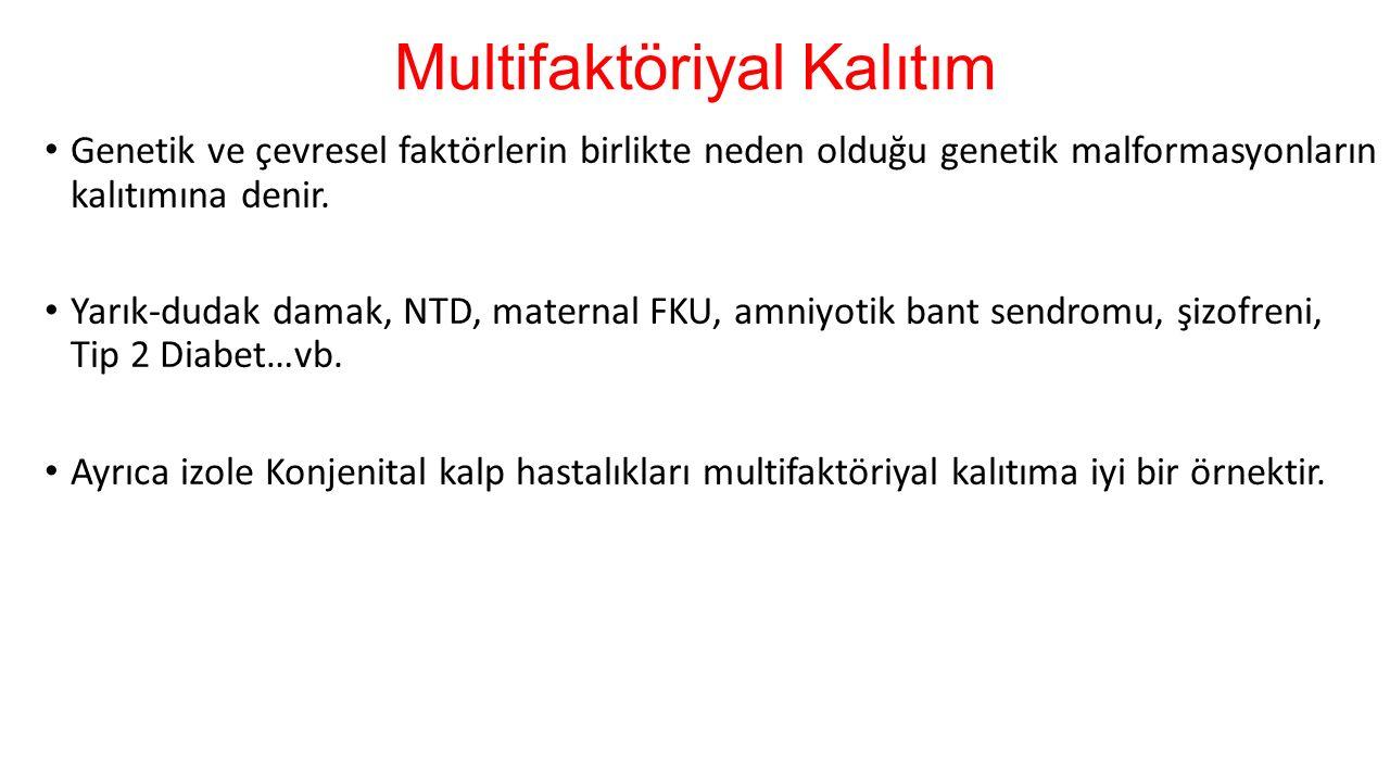 Multifaktöriyal Kalıtılan Hastalıkların Sıklığı