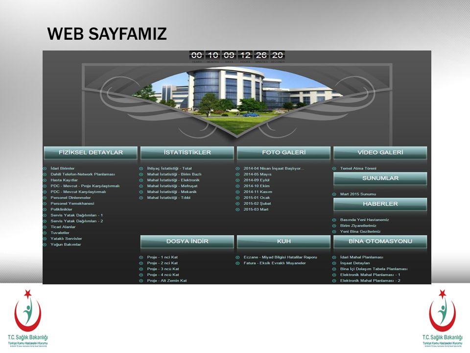WEB SAYFAMIZ