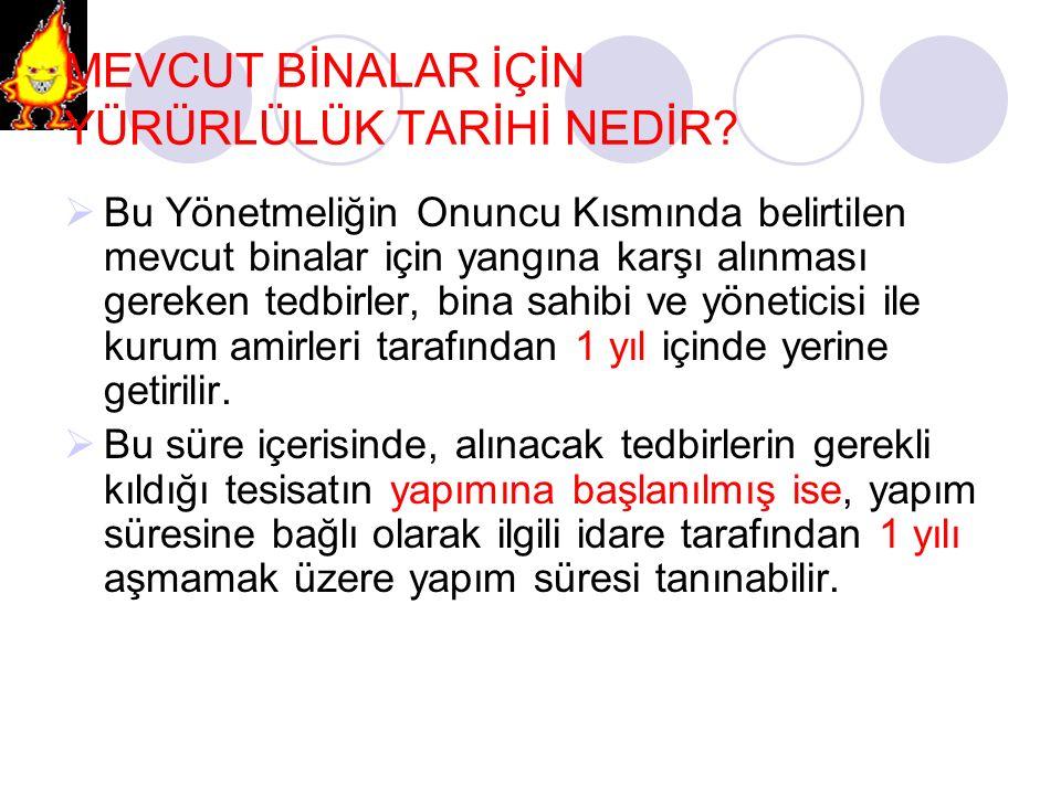KAZAN DAİRELERİ MADDE 54-  Kazan dairelerinin ilgili Türk Standartlarına uygun olması şarttır.