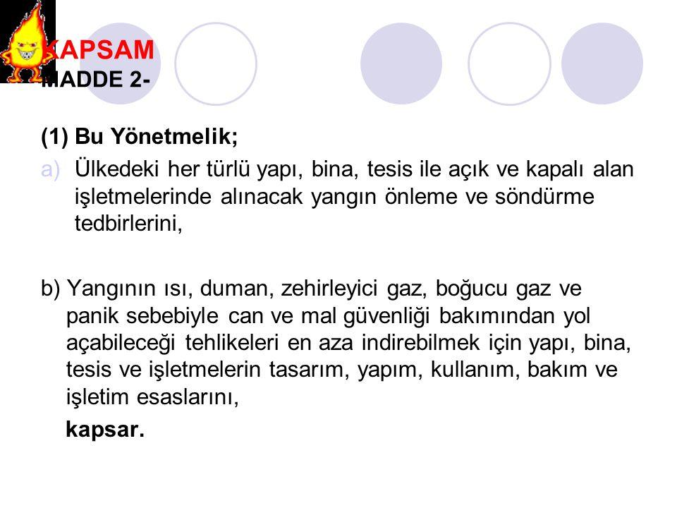 BİNA TEHLİKE SINIFLANDIRMASI MADDE 19- ORTA TEHLİKE SINIFI BİNA NEDİR.