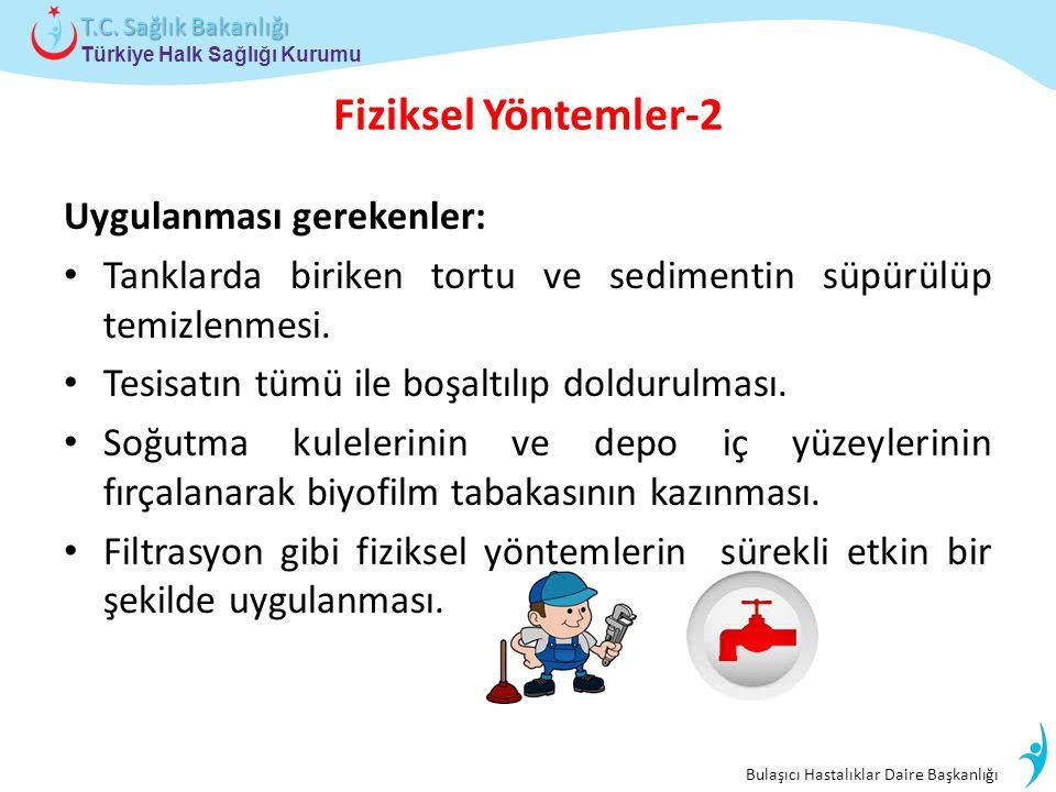 Bulaşıcı Hastalıklar Daire Başkanlığı Türkiye Halk Sağlığı Kurumu T.C.