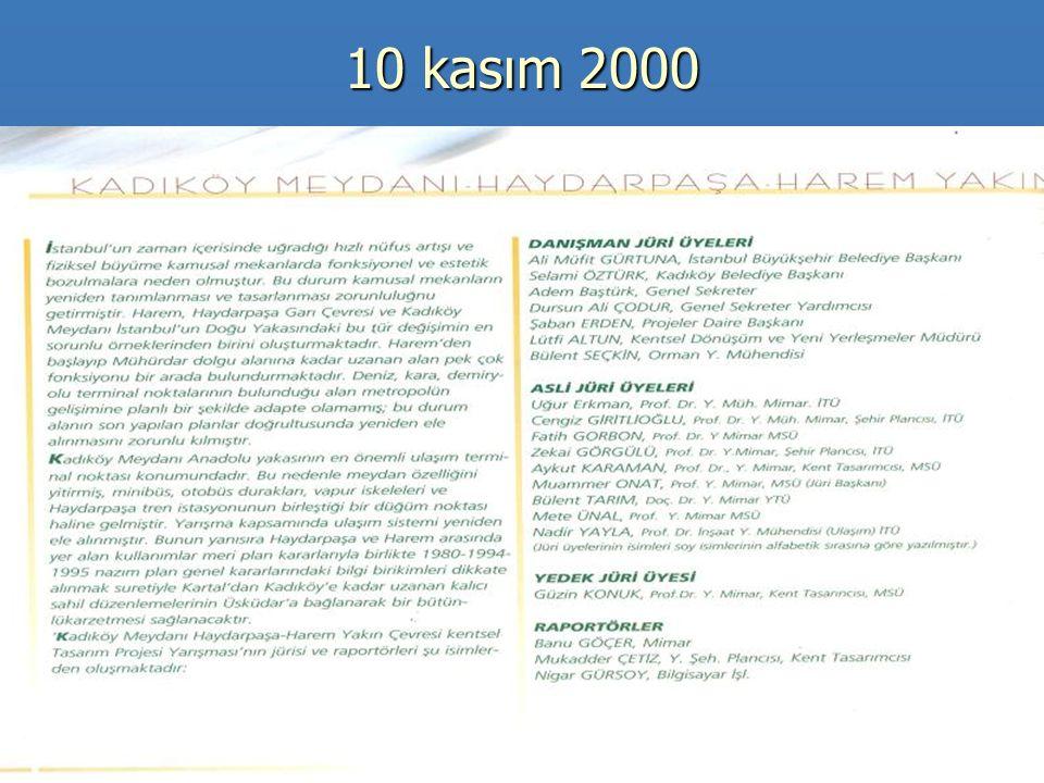 10 kasım 2000
