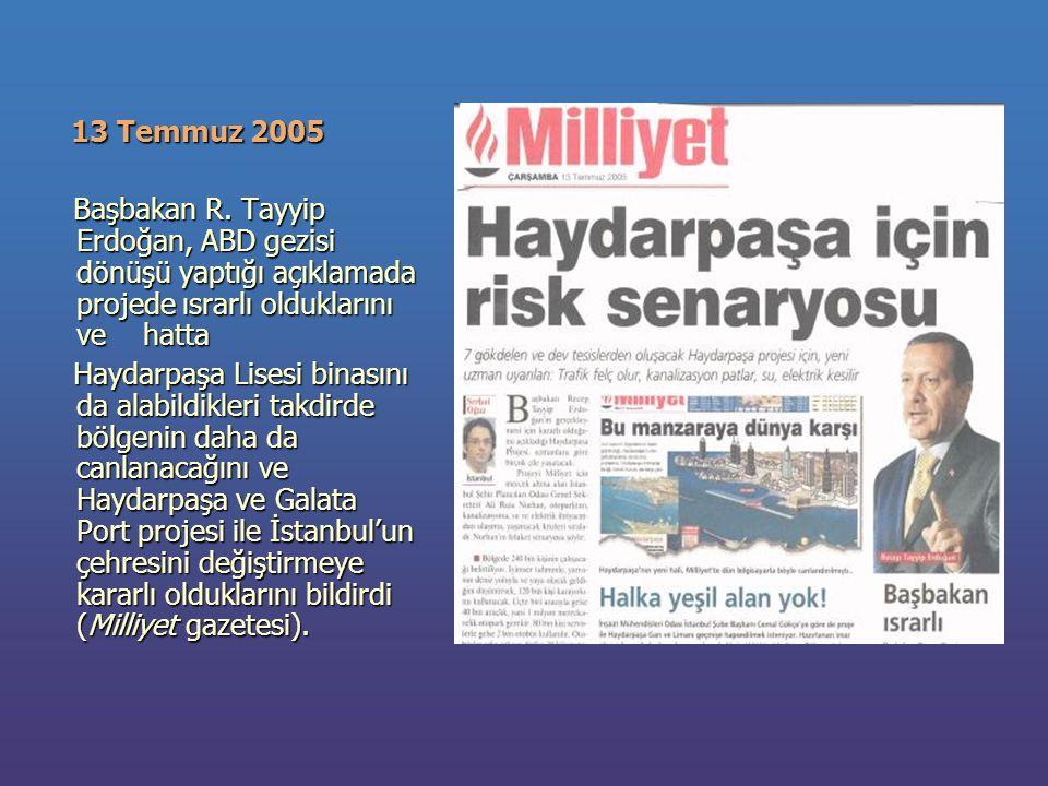 13 Temmuz 2005 13 Temmuz 2005 Başbakan R.