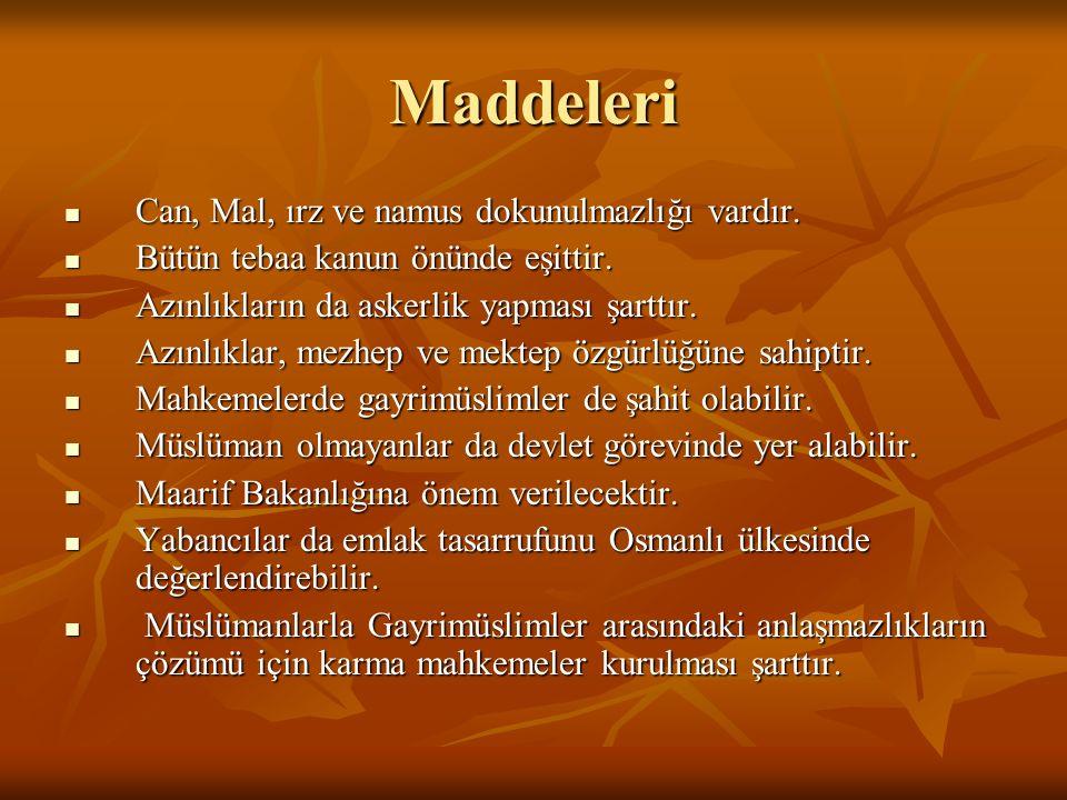 I.Meşrutiyet (1876-1878) Hazırlayan: Mithat Paşa Padişah: Sultan II.