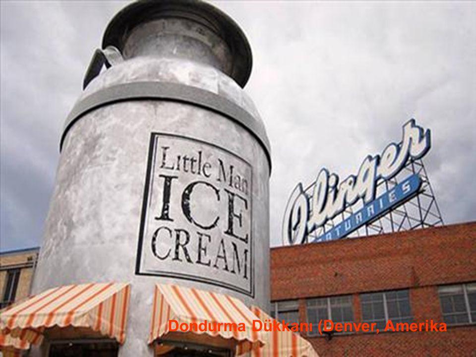 29.05.2016BÜLENT FATİN ÖZMEN 23 04 2009 Dondurma Dükkanı (Denver, Amerika