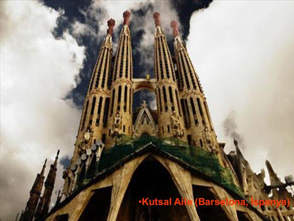 29.05.2016BÜLENT FATİN ÖZMEN 23 04 2009 Kutsal Aile (Barselona, İspanya)
