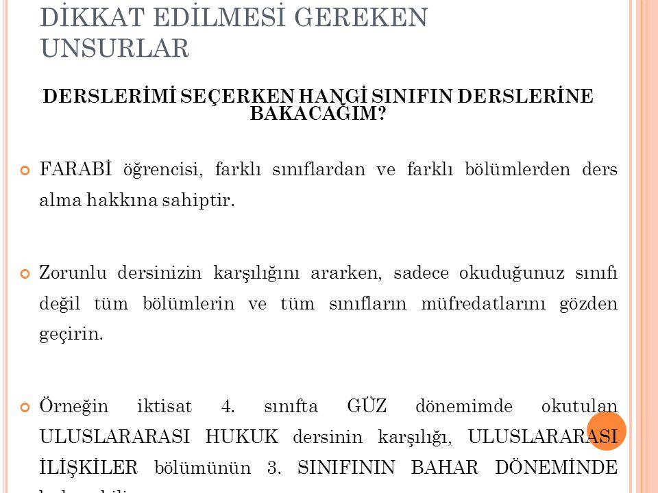 PROTOKOLÜN HAZIRLANMASI Kabul Eden Yükseköğretim Kurumunda Alınacak Dersler ……..