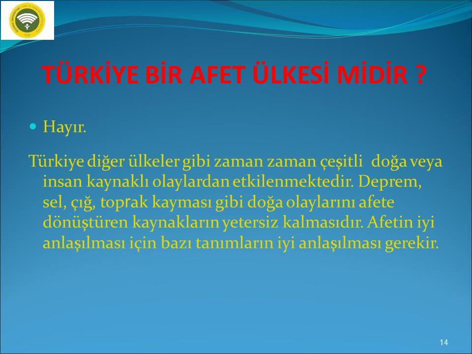 Levhaların buluştuğu yer: Türkiye 13