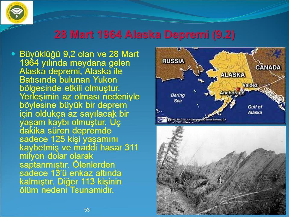 Hem yerleşimin dağınık olması, hem de Şili'nin depreme dayanıklı yapılar konusunda daha o zamanlar bile büyük adımlar atması, günümüzden tam 60 yıl ön