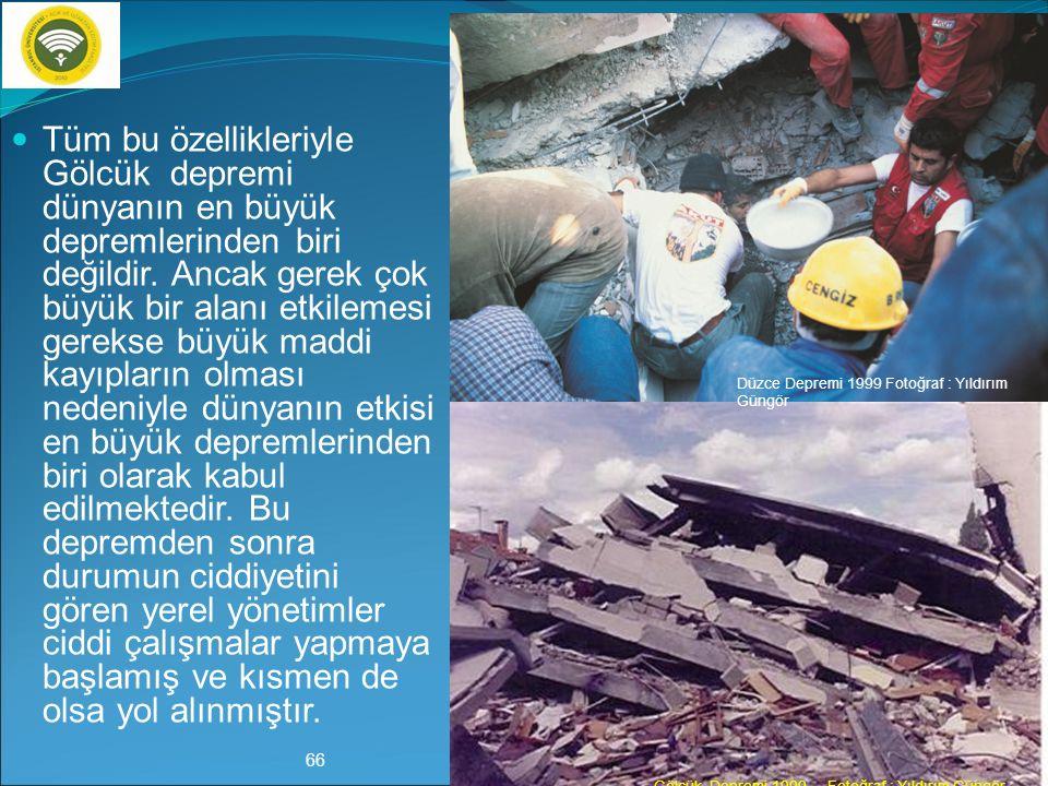 Deprem sonrasında her konuda büyük aksaklıklar yaşanmıştır.