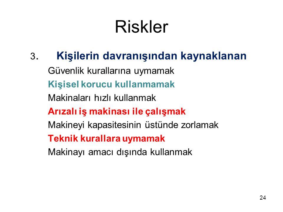 Riskler 3.