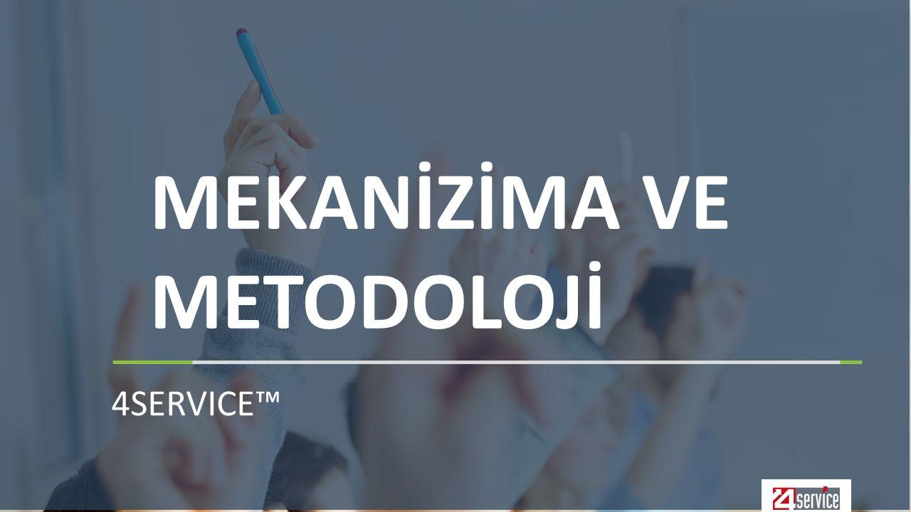 4SERVICE™ MEKANİZİMA VE METODOLOJİ