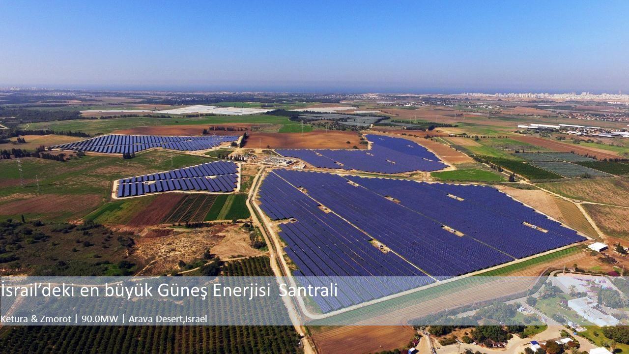 16 İsrail'deki en büyük Güneş Enerjisi Santrali Ketura & Zmorot 丨 90.0MW 丨 Arava Desert,Israel