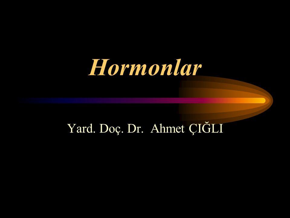 Ön hipofiz hormonları Tiroid stimülan hormon (TSH):Tiroid bezine etkir.